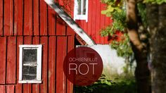 Schwedische Hausfassade in Rot Corporate Design, Web Design, Sweden, Marketing, Colors, Oxblood, Advertising Agency, House Siding, Red
