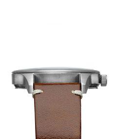 Miró Classic 40mm Creme Chocolate - Detail