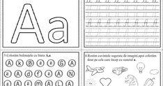 Mai jos putem vedea fișe de lucru ce conțin literele alfabetului, dar și elemente ce pot fi colorate ori identifica... Word Search, Bullet Journal, Words, Horse