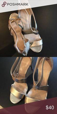 b36db9d0473 Steve Madden NALA Gold Metallic Heels in 2019