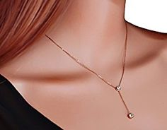 Womens 18K Rose-Gold Plated Stailess Steel Double CZ Diamond Y-Drop Necklace valentine gift for women https://www.amazon.com/Womens-Rose-Gold-Stailess-Diamond-Necklace/dp/B01FY0002S/ref=sr_1_23?m=A3M1ZI8W6DULDI&s=merchant-items&ie=UTF8&qid=1485792055&sr=1-23