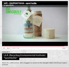 IAR sand bottle  https://www.youtube.com/watch?v=KqRPtZ8oYz4