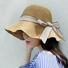77 Best 2018 beach vacation summer straw hats for women images ... 4a364892d66c