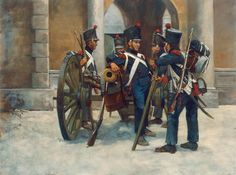 La Pintura y la Guerra. Military Weapons, Military Art, Military History, Military Uniforms, First French Empire, Samurai, Art Of Fighting, French Army, Napoleonic Wars