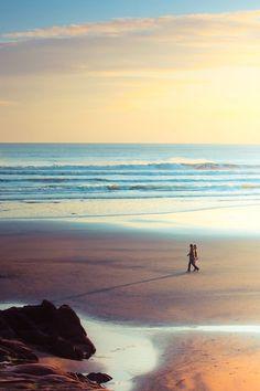 . Destinations, Station Balnéaire, Am Meer, Beach Walk, Ocean Beach, Beautiful Beaches, Seaside, Sunrise, Surfing
