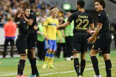 La Belgique poursuit sa route vers le Brésil par une victoire 0-2 en Suède | Diables rouges - lesoir.be