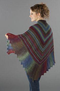 Lace Edge Garter Stitch Shawl Pattern