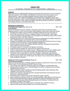 nice simple construction superintendent resume example to get applied check more at http