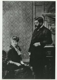 George and Marguerite Westinghouse, c. 1869