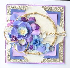 Here on Scrapbook com I post some of my favorites of my own projects For all my card making paper craft projects and more visit my site www miradisia com Cardmaking And Papercraft, Cute Cards, I Card, Jewelry Crafts, Craft Projects, Cricut, Card Making, Jewelry Making, Paper Crafts