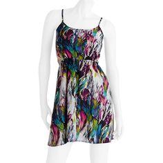 No Boundaries Juniors Spaghetti Strap Lace Dress Juniors