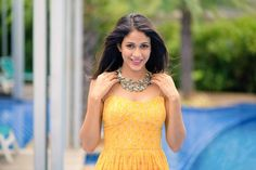 Lavanya Tripathi dons a comfy yet stylish look as she attended the audio launch of her upcoming movie Srirastu Subhamastu. She was all dressed up in a Suruchi Parakh yellow maxi dress. The maxi dress is a great choice for both day and evening looks. It's light, breezy, comfortable and a perfect pick for a …