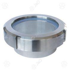 SS304 316L Sight Glass Union Type Flow Sanitary Sight Glass