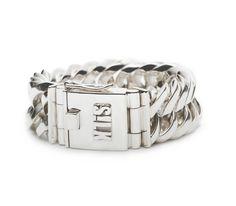 Sterling silver chain bracelet |102 bracelet  Vishnu | www.silkjewellery.nl