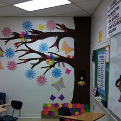 Tree in my classroom-helps mix it up classroom tree classroom tree, teach. Classroom Family Tree, Classroom Board, Family Tree Wall, Classroom Posters, Preschool Classroom, Preschool Crafts, Bulletin Boards, Preschool Displays, Classroom Displays