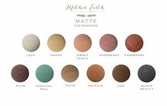 All Natural Mineral Eye Shadow Powder  by MotherEarthBeautyBar