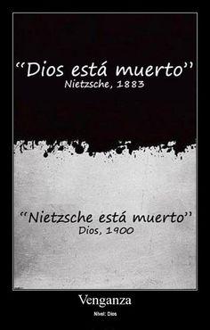 Nietzsche y Dios está muerto
