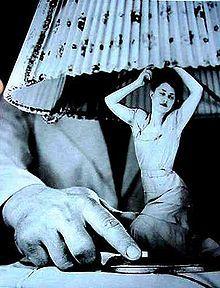 ARTÍCULOS ELÉCTRICOS PARA EL HOGAR, FOTOMONTAJE 1950