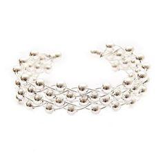 White Bronze Marianna Bracelet -