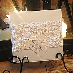Cream beaded lace with embroidery. Wide cream lace for craft and card making