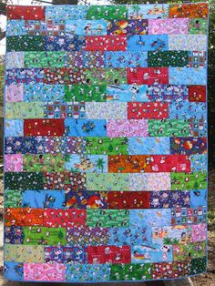 Snoopy Quilt - YUP something that im gonna make!