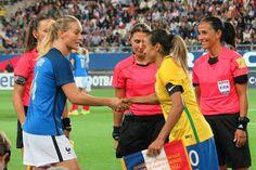 Blog Esportivo do Suíço:  Com golaço de Marta, Seleção Feminina empata com a França