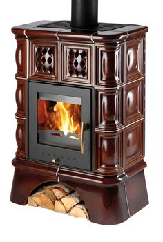 Treviso s výměníkem kachlový sokl Kachlová kamna s výměníkem - HAAS+SOHN Fireplaces, Home Appliances, Wood, Fireplace Set, House Appliances, Fire Places, Woodwind Instrument, Timber Wood, Appliances