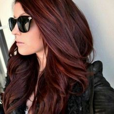 Image de hair, red, and sunglasses