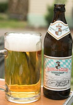 Refreshing German Beer: Tegernsee Hell German beer in New Zealand - http://www.beerz.co.nz/tag/nz-beer/ #German #beer #nzbeer #newzealand