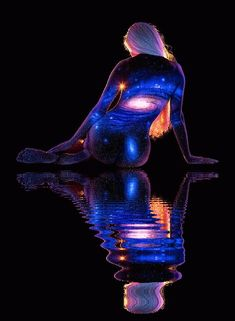 Original Art By: John Poppleton - Body Art Illusion Kunst, Illusion Art, Female Body Paintings, Female Art, Beau Gif, Arte Hip Hop, Human Body Art, Body Art Photography, Gif Animé