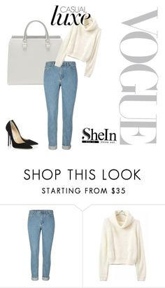 """Untitled #6"" by dkadsaisbinxyusing ❤ liked on Polyvore featuring Jimmy Choo"