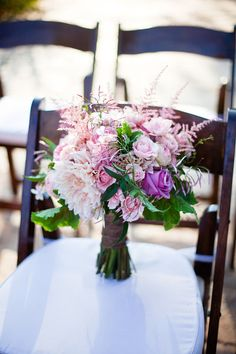 Wildflower Center wedding bouquet  @PearlEventsATX