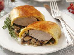 Schweinefilet mit Pilzen im Strudelmantel ist ein Rezept mit frischen Zutaten aus der Kategorie Schwein. Probieren Sie dieses und weitere Rezepte von EAT SMARTER!