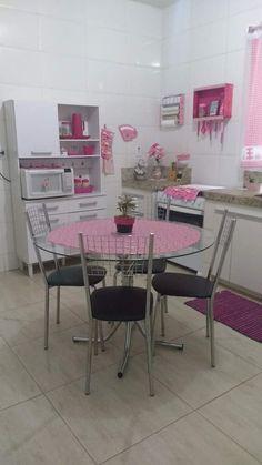 Shabby Chic Kitchen, Home Decor Kitchen, Kitchen Interior, Interior Design Living Room, Living Room Designs, Living Room Decor, Glamour Decor, Simple Home Decoration, Pastel House