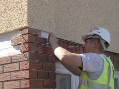 12 best installing external wall insulation images on pinterest application of webererm xb brick slips onto insulation to create a traditional brick finish solutioingenieria Choice Image