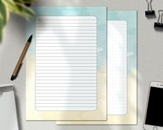 Letter Stationery, Korean Stationery, Cute Stationery, Writing Paper, Letter Writing, Stationary Set, Letter To Yourself, Minimalist Chic, Pastel Watercolor