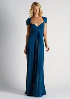 0214dd154d8 Von Vonni Long Transformer Dress in Teal