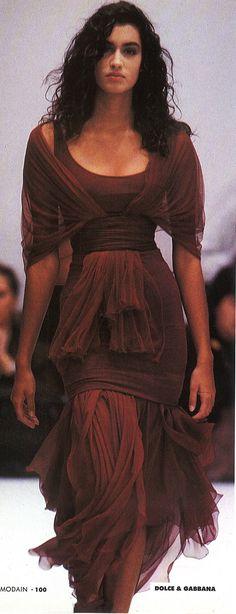 Dolce & Gabbana runway, 1990
