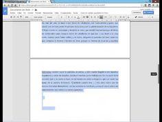 ▶ Crear documentos a nuestro gusto en Google Docs - YouTube