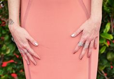 Taryn Manning Photos Photos - Actress Taryn Manning (jewelry detail) attends the 21st Annual Screen Actors Guild Awards at The Shrine Auditorium on January 25, 2015 in Los Angeles, California. - 21st Annual Screen Actors Guild Awards - Arrivals