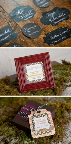love the food labels - Rustic-Wedding-Inspiration-6