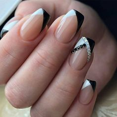 nail tips acrylic colored ~ nail tips . nail tips acrylic . nail tips design . nail tips and tricks . nail tips with dip powder . nail tips gel . nail tips acrylic short . nail tips acrylic colored French Manicure Designs, Classy Nail Designs, Acrylic Nail Designs, Nail Art Designs, Pedicure Designs, Unique Nail Designs, Fancy Nails Designs, Fall Designs, French Nail Art