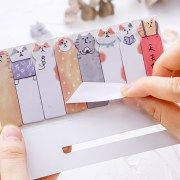 ONLY 4 LEFT! So Cute Meow Cat Sticky Notes White - The Heureux Lifestyle