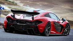 Red Mclaren P1