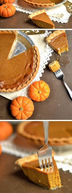 This classic PUMPKIN PIE is perfect for your Holiday Table! So easy, only a few ingredients, and so delicious!