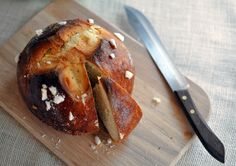 Traditional Croatian  Easter Bread Pinca or Sirnica, it is sweet and aromatic, perfect with a cup of tea or coffee.