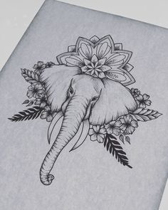 Sleeve Tattoos Elephant Tattoo Ideas – tattoos for women half sleeve Dope Tattoos, Leg Tattoos, Body Art Tattoos, Small Tattoos, Tattoo Thigh, Tattoos Skull, Tatoos, Thigh Piece Tattoos, Upper Thigh Tattoos