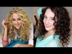 Using a curling wand on... naturally curly hair???  The Carrie Diaries Inspired Hair Tutorial +Collab with SpeakNoww17