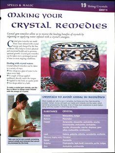 Crystal remedies