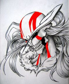 Ichigo's Vasto Lorde Mask by satanX15 on DeviantArt